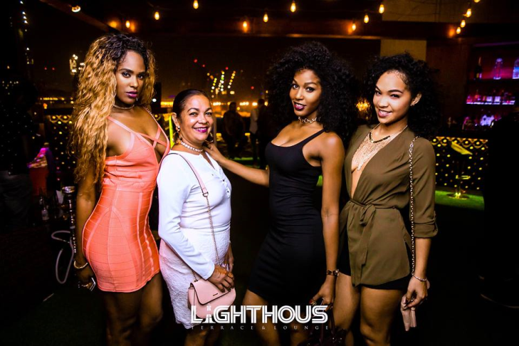 Ladies Night in Dubai at LightHous Terrace and Club Lounge